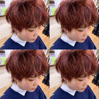 ボブ マッシュショート マッシュヘア モード ヘアスタイルや髪型の写真・画像