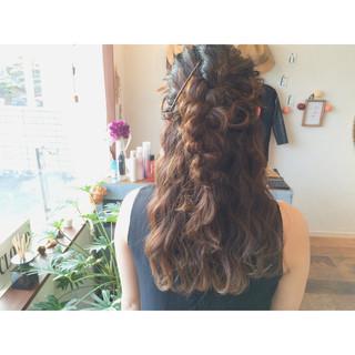 ヘアアレンジ ロング 大人かわいい ゆるふわ ヘアスタイルや髪型の写真・画像 ヘアスタイルや髪型の写真・画像