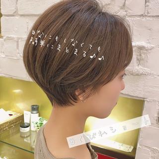 ショートヘア ベリーショート 大人かわいい ショート ヘアスタイルや髪型の写真・画像