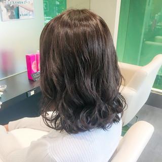 エレガント 暗髪 透明感 上品 ヘアスタイルや髪型の写真・画像