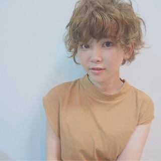 ゆるふわ パーマ ガーリー ヘアアレンジ ヘアスタイルや髪型の写真・画像 ヘアスタイルや髪型の写真・画像