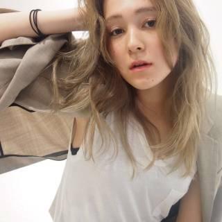 ストリート 外国人風 ミディアム パンク ヘアスタイルや髪型の写真・画像