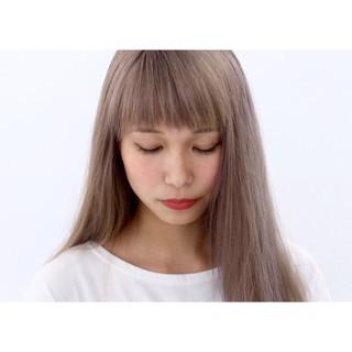 抜け感 ガーリー 外国人風カラー 透明感 ヘアスタイルや髪型の写真・画像