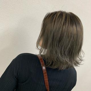 N.オイル モード グレージュ ブリーチ ヘアスタイルや髪型の写真・画像