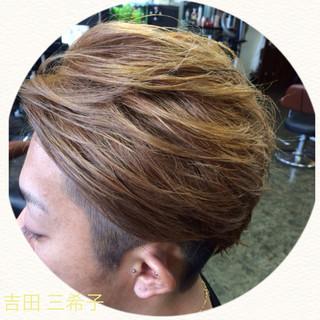 外国人風カラー アッシュ ストリート ブリーチ ヘアスタイルや髪型の写真・画像 ヘアスタイルや髪型の写真・画像
