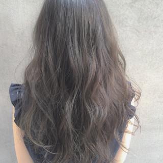 外国人風カラー 大人かわいい ロング イルミナカラー ヘアスタイルや髪型の写真・画像