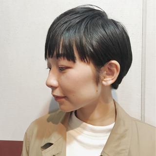 ナチュラル ショート モード 抜け感 ヘアスタイルや髪型の写真・画像