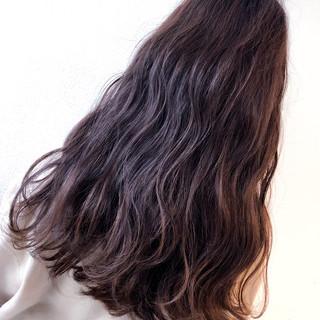 グラデーションカラー セミロング ダブルカラー ストリート ヘアスタイルや髪型の写真・画像