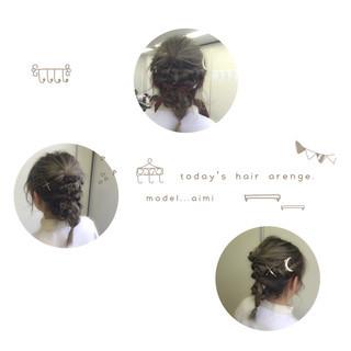 ゆるふわ ヘアアレンジ 前髪あり ショート ヘアスタイルや髪型の写真・画像 ヘアスタイルや髪型の写真・画像