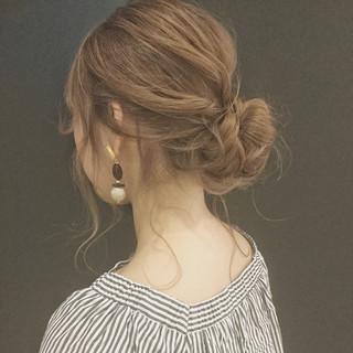 大人かわいい セミロング 透明感 フェミニン ヘアスタイルや髪型の写真・画像