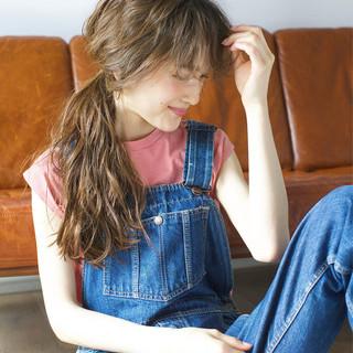 ロング ショート ヘアアレンジ 夏 ヘアスタイルや髪型の写真・画像