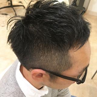 ショート スポーツ 刈り上げ 黒髪 ヘアスタイルや髪型の写真・画像