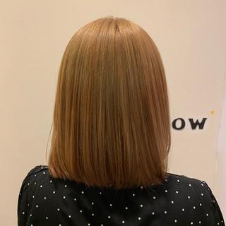 かわいい ヘアオイル ハニーベージュ フェミニン ヘアスタイルや髪型の写真・画像