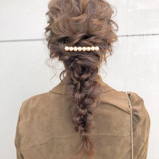 デート スポーツ 結婚式 ヘアアレンジ ヘアスタイルや髪型の写真・画像