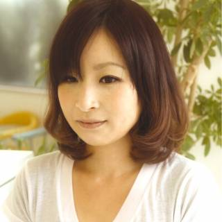 大人かわいい モテ髪 ショート 丸顔 ヘアスタイルや髪型の写真・画像