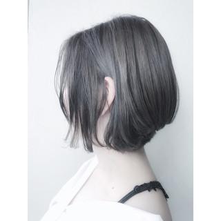 イルミナカラー ヘアアレンジ ボブ 外ハネ ヘアスタイルや髪型の写真・画像