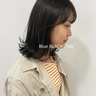 ミディアムレイヤー レイヤースタイル ナチュラル レイヤーカット ヘアスタイルや髪型の写真・画像