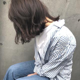 ヘアアレンジ ロブ ナチュラル ボブ ヘアスタイルや髪型の写真・画像