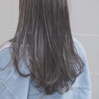 透明感 ナチュラル オルチャン デート ヘアスタイルや髪型の写真・画像