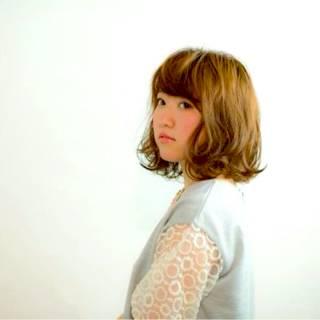 コンサバ フェミニン ゆるふわ 愛され ヘアスタイルや髪型の写真・画像 ヘアスタイルや髪型の写真・画像