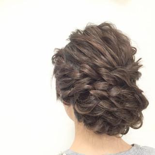 ロング 大人かわいい ヘアアレンジ 愛され ヘアスタイルや髪型の写真・画像