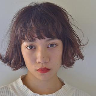 ナチュラル ガーリー パーマ アンニュイほつれヘア ヘアスタイルや髪型の写真・画像