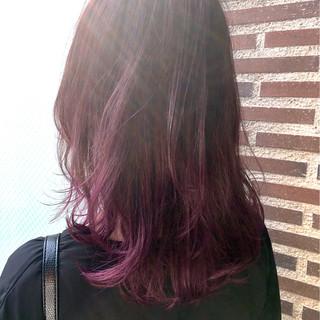 ストリート 暗髪 外国人風 グラデーションカラー ヘアスタイルや髪型の写真・画像