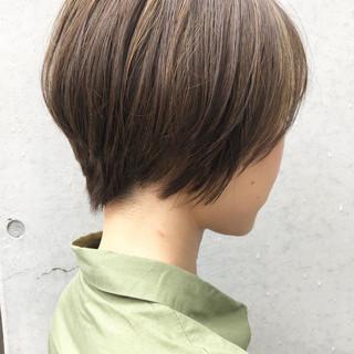 ナチュラル デート ハイライト コントラストハイライト ヘアスタイルや髪型の写真・画像