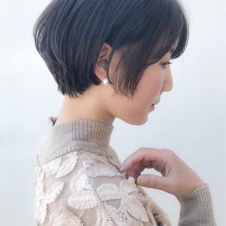 アンニュイほつれヘア コンサバ 横顔美人 デート ヘアスタイルや髪型の写真・画像