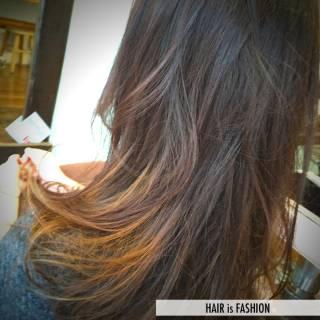 愛され グラデーションカラー コンサバ モテ髪 ヘアスタイルや髪型の写真・画像 ヘアスタイルや髪型の写真・画像
