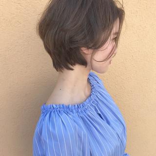 パーマ 大人女子 ナチュラル 透明感 ヘアスタイルや髪型の写真・画像