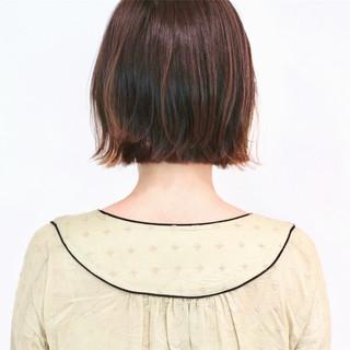 インナーカラー ハイライト フェミニン グラデーション ヘアスタイルや髪型の写真・画像