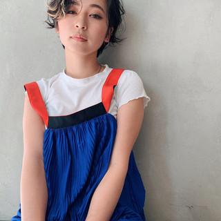 ハンサムショート デザインカラー 阿藤俊也 似合わせカット ヘアスタイルや髪型の写真・画像