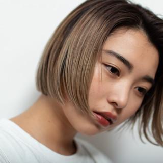 ブリーチ 3Dハイライト ブリーチオンカラー ブリーチ必須 ヘアスタイルや髪型の写真・画像