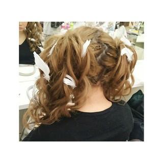 ショート ツインテール ゆるふわ 簡単ヘアアレンジ ヘアスタイルや髪型の写真・画像