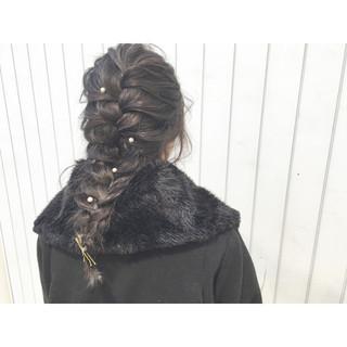 外国人風 ショート ヘアアレンジ ロング ヘアスタイルや髪型の写真・画像