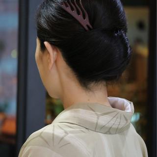 和装 ナチュラル 着物 和服 ヘアスタイルや髪型の写真・画像 ヘアスタイルや髪型の写真・画像