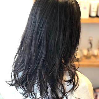 デジタルパーマ ナチュラル ウェーブ ゆるウェーブ ヘアスタイルや髪型の写真・画像