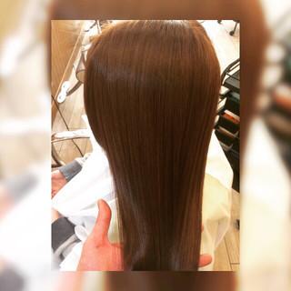 艶髪 ナチュラル ストレート トリートメント ヘアスタイルや髪型の写真・画像