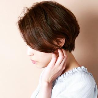 小顔 大人かわいい 冬 ナチュラル ヘアスタイルや髪型の写真・画像