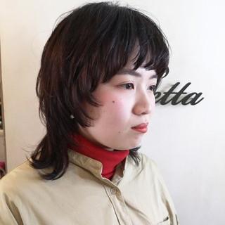 N.オイル ハンサムショート ウルフカット ストリート ヘアスタイルや髪型の写真・画像