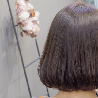ナチュラル ボブ デート ニュアンス ヘアスタイルや髪型の写真・画像