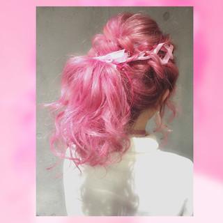 フェミニン ゆるふわ ハーフアップ ヘアアレンジ ヘアスタイルや髪型の写真・画像