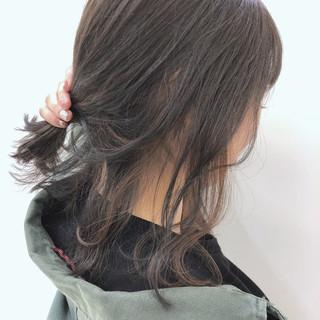 ストリート 女子力 透明感 ウェーブ ヘアスタイルや髪型の写真・画像