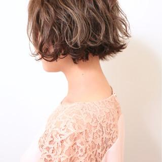 女子力 外ハネ ボブ こなれ感 ヘアスタイルや髪型の写真・画像