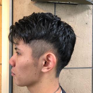 刈り上げ ストリート ショート メンズショート ヘアスタイルや髪型の写真・画像