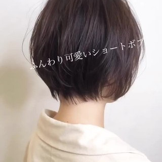小顔ショート ガーリー ハンサムショート ショートヘア ヘアスタイルや髪型の写真・画像