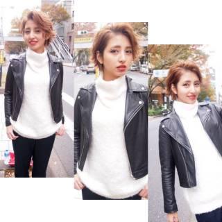 ショート ストリート 外国人風 ボーイッシュ ヘアスタイルや髪型の写真・画像