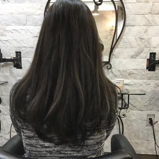 イルミナカラー エレガント 上品 黒髪 ヘアスタイルや髪型の写真・画像