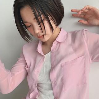 黒髪 アウトドア スポーツ ナチュラル ヘアスタイルや髪型の写真・画像